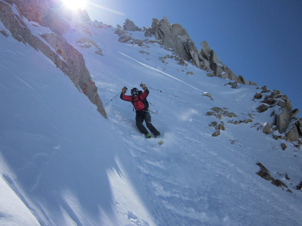 It's ski mountaineering not ski ballet, no points for making it pretty, just for surviving.