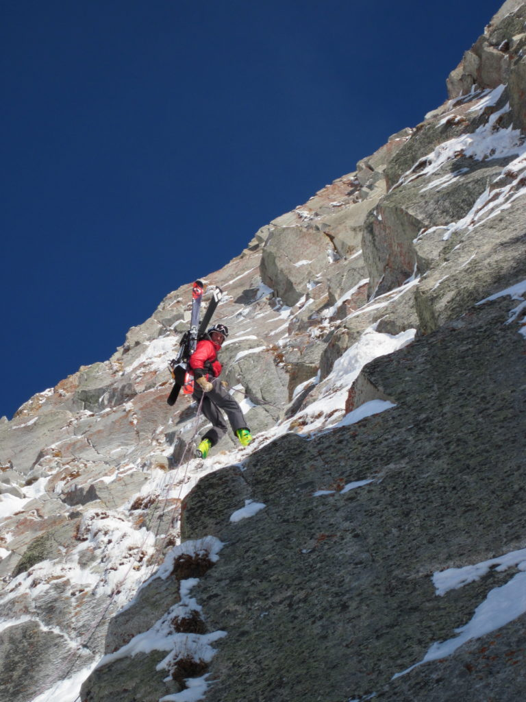 Ski mountaineering rocks!