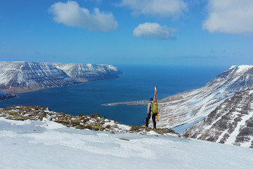 """More couloirs than residents in Onundarfjord.""""  Westfjords (Credit Steve Gately)"""