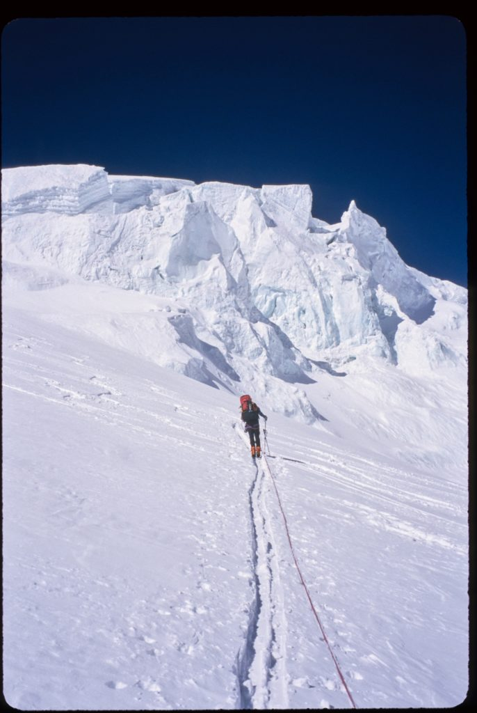 11 Shish on route to high camp
