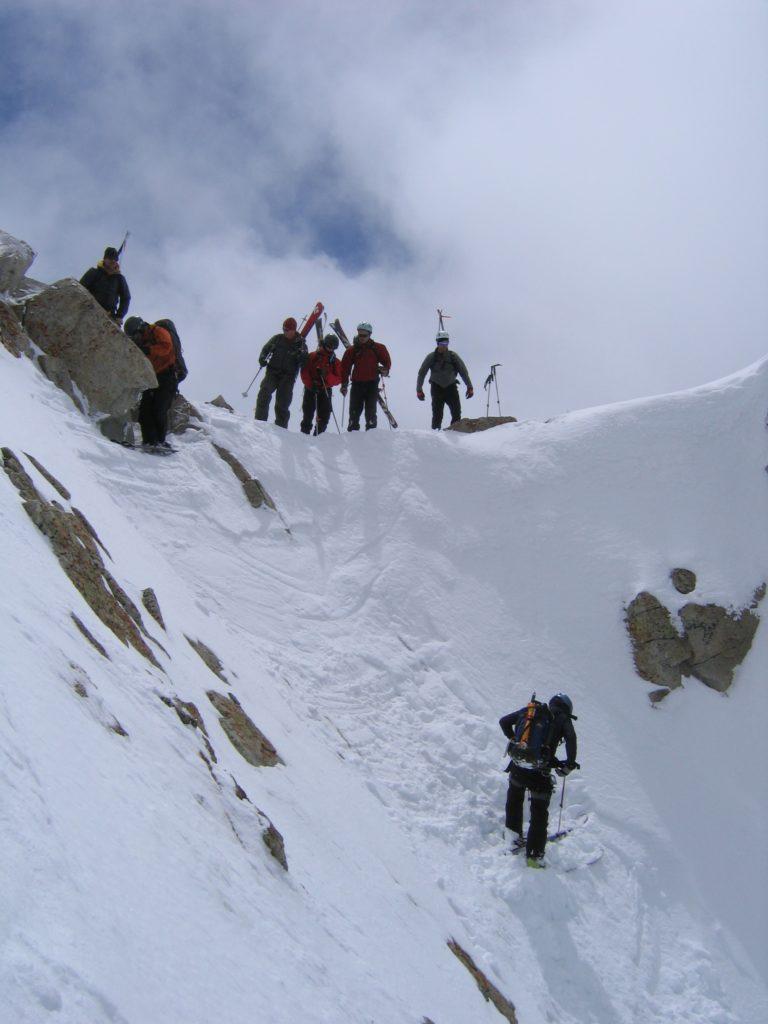 Team Above Entrance