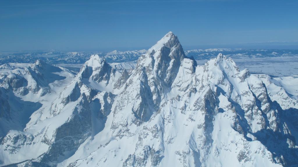 The Teton Range. Lines for days.