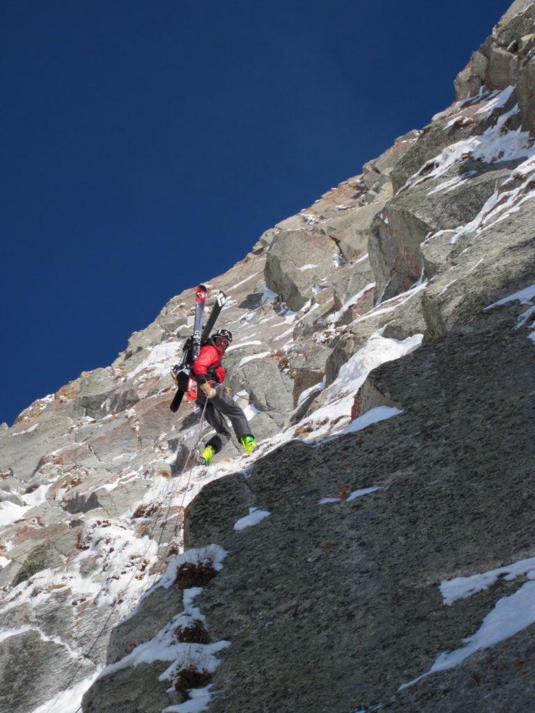 Ski mountaineering rocks!