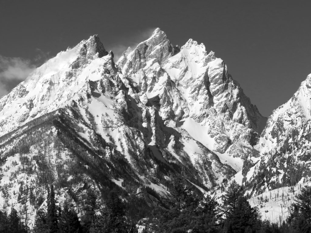 A quick look at the NE Snowfields of Mt. Owen.