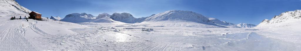 An arctic panorama. Photo Keoki Flagg