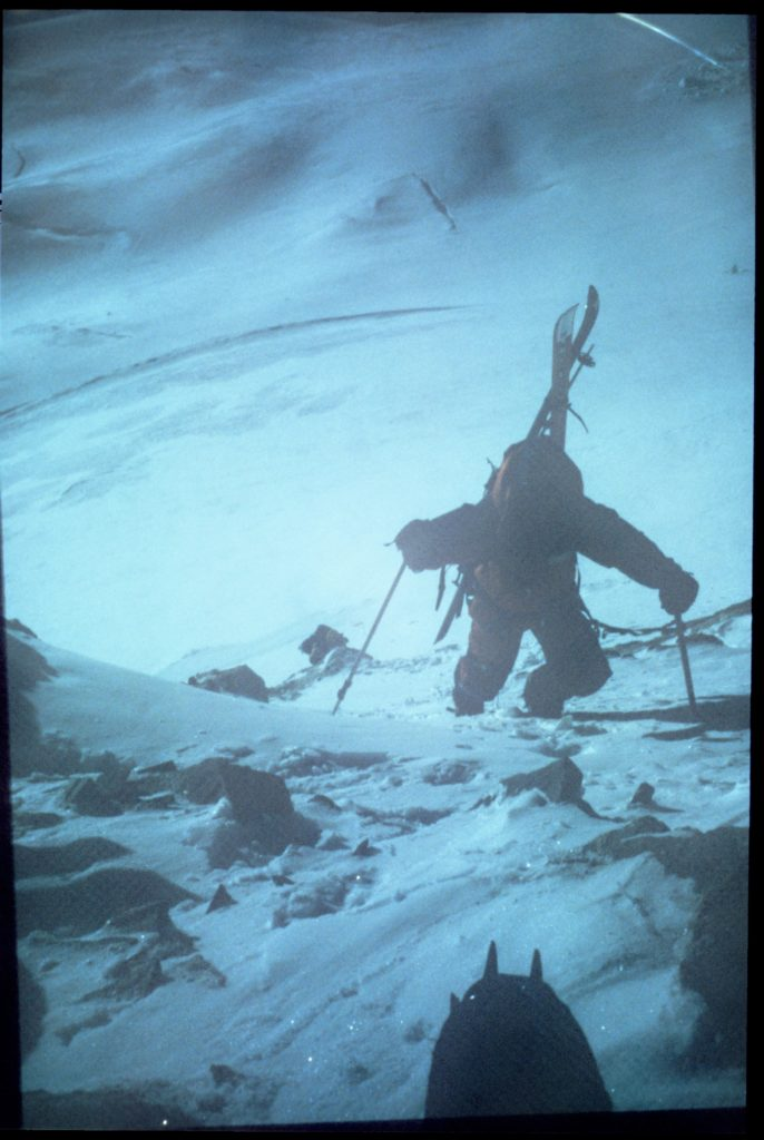 14 Shish climbing ne ridge before sun