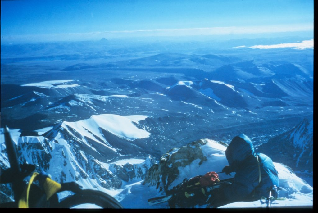 16 Shish on ridge taking break