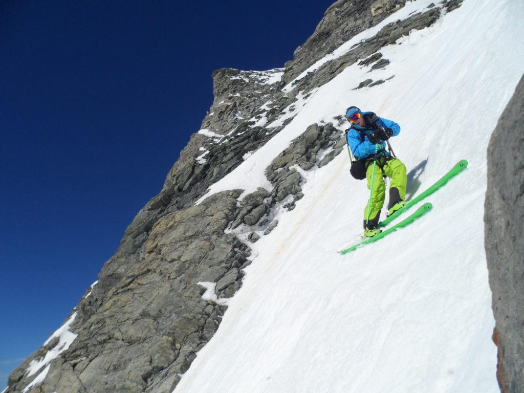Ross Hewitt preparing to ski. Photo©Ross Hewitt Collection